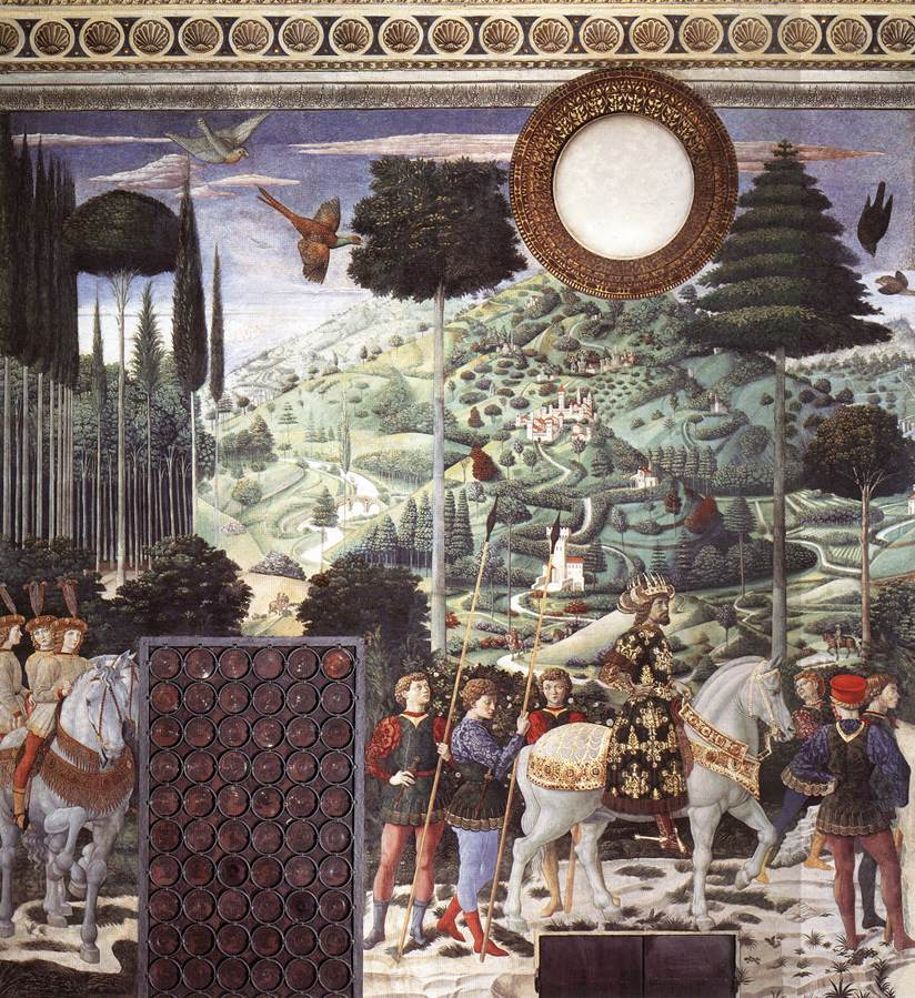 Procession of the Middle King (south wall)