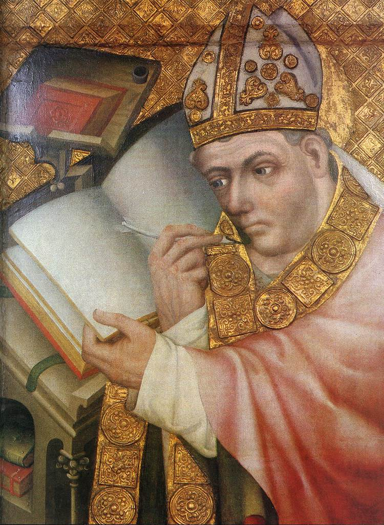 Painting of a Saint