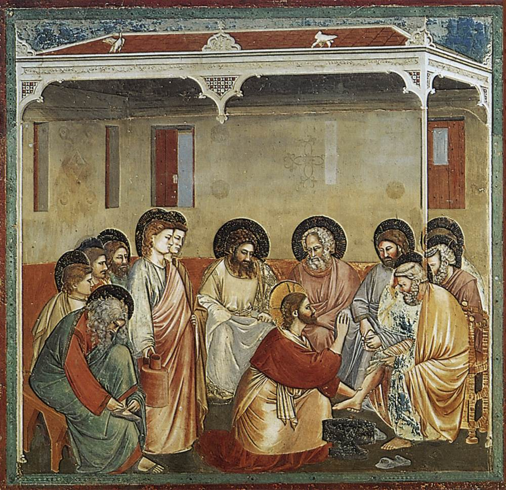 No. 30 Scenes from the Life of Christ: 14. Washing of Feet
