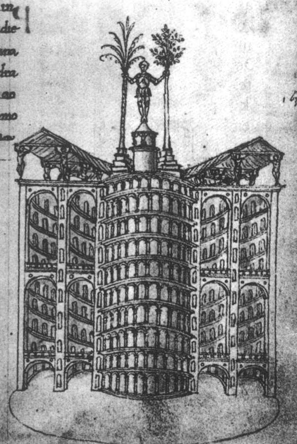 Page from the Trattato d'architettura