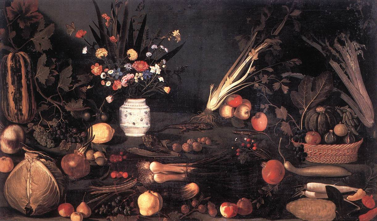 Still-Life with Flowers and Fruit