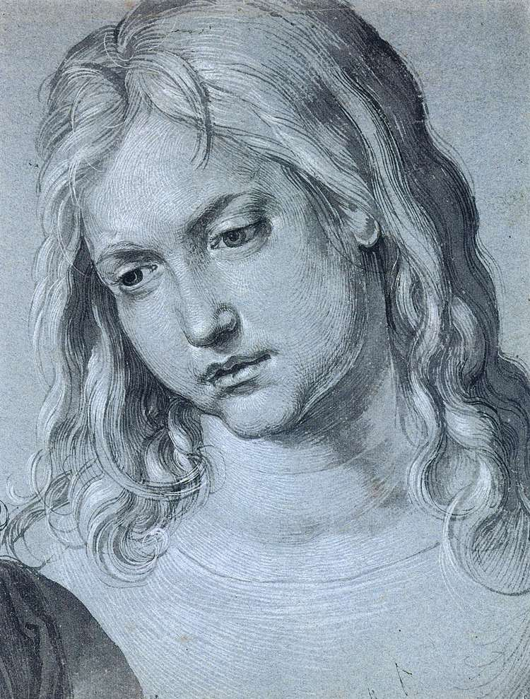 Head of the Twelve Year Old Christ