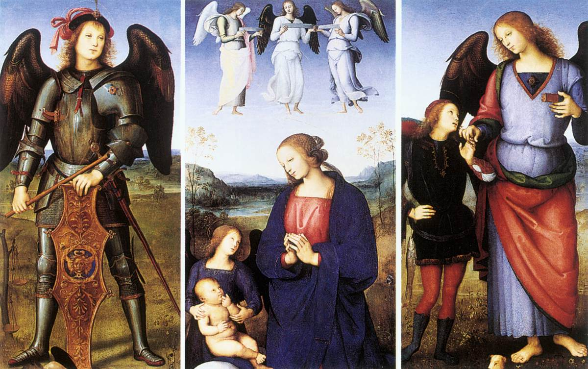 Polytych of Certosa di Pavia (details)