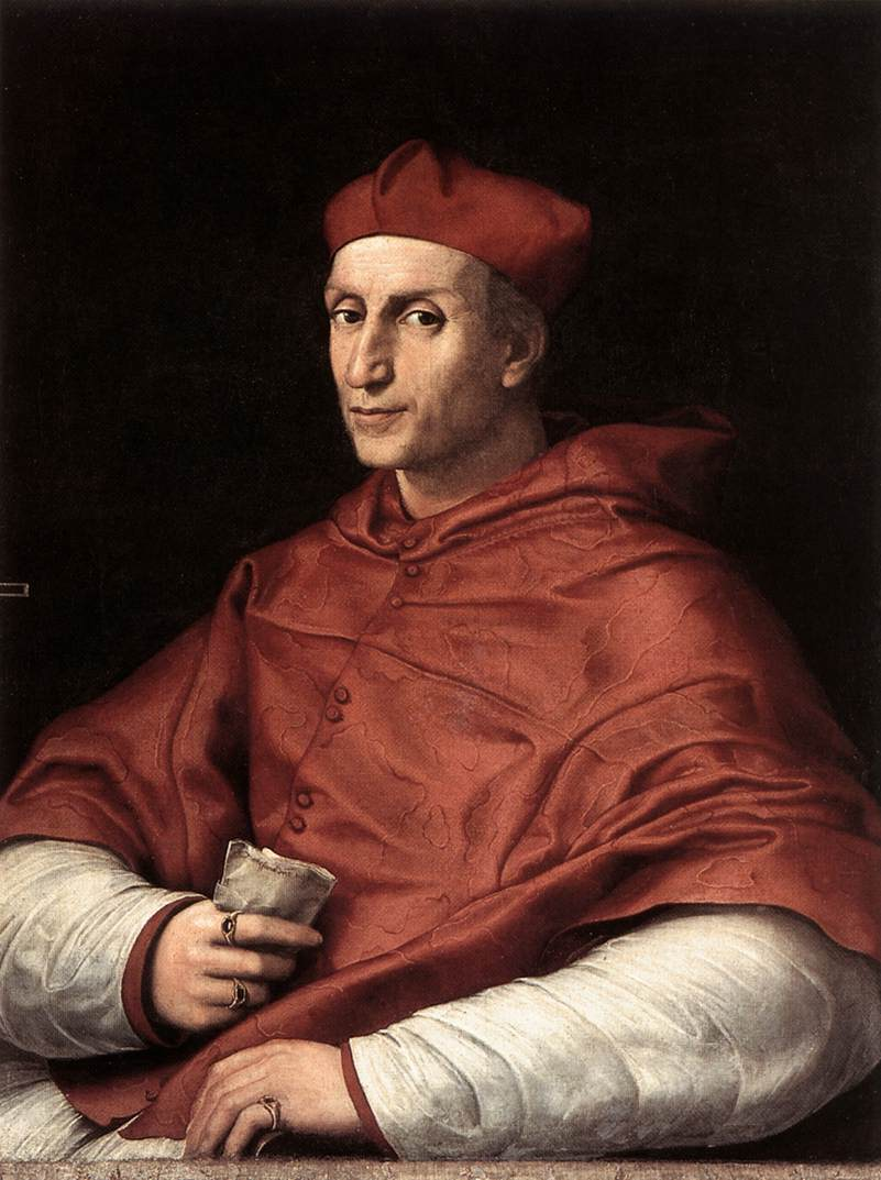 Portrait of Cardinal Bibbiena