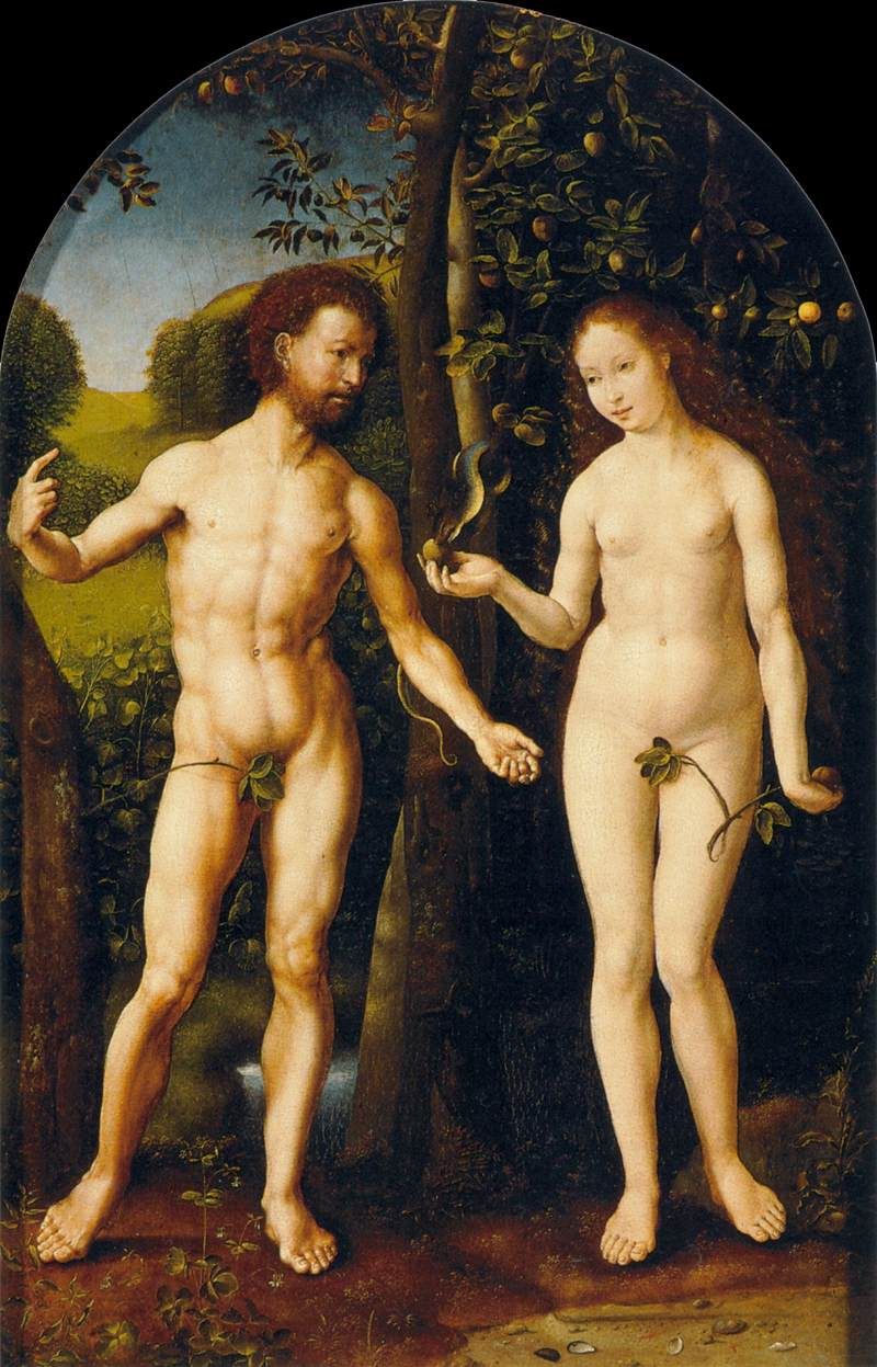 Tintoretto Adam And Eve Adam And Eve