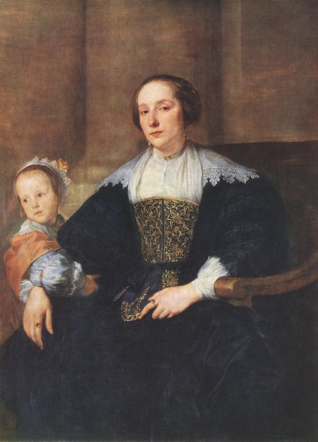 The Wife and Daughter of Colyn de Nole