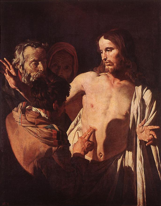 Category:The Incredulity of Saint Thomas - Francesco Salviati - Louvre INV 593