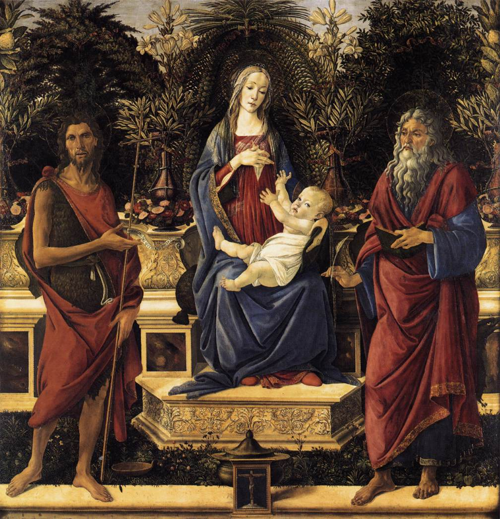 The Virgin and Child Enthroned (Bardi Altarpiece)