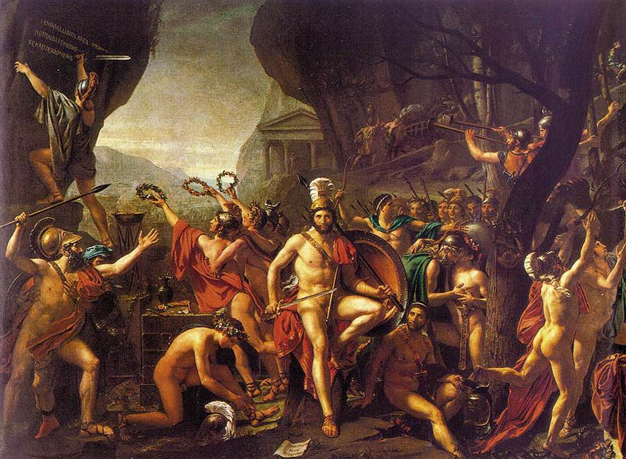 Leonidas at Thermopylae