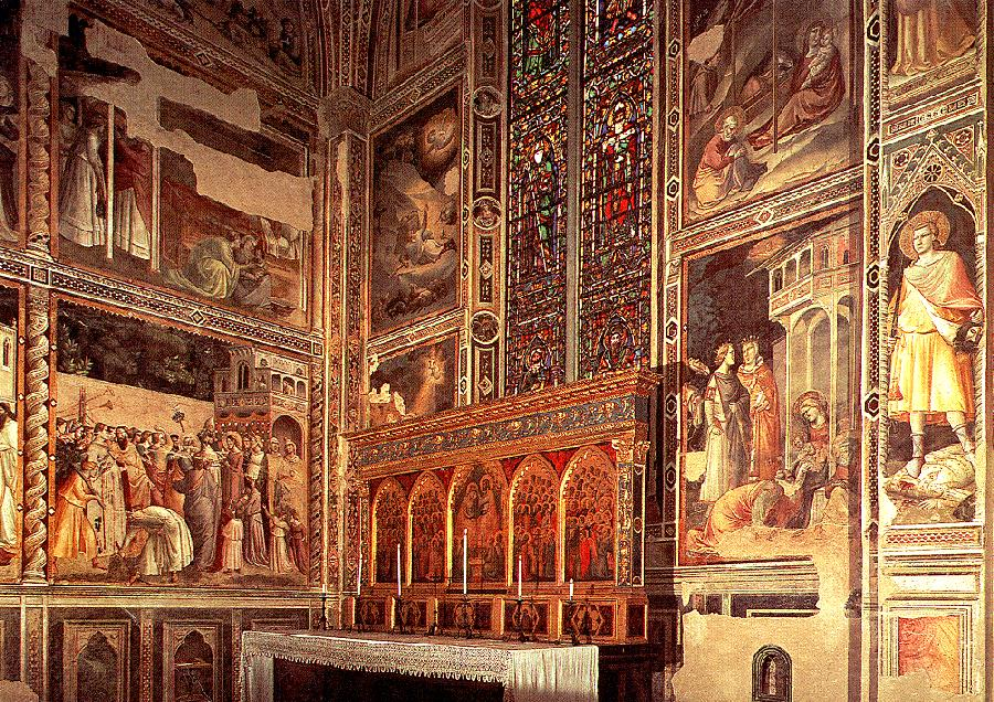General view of the Baroncelli Chapel
