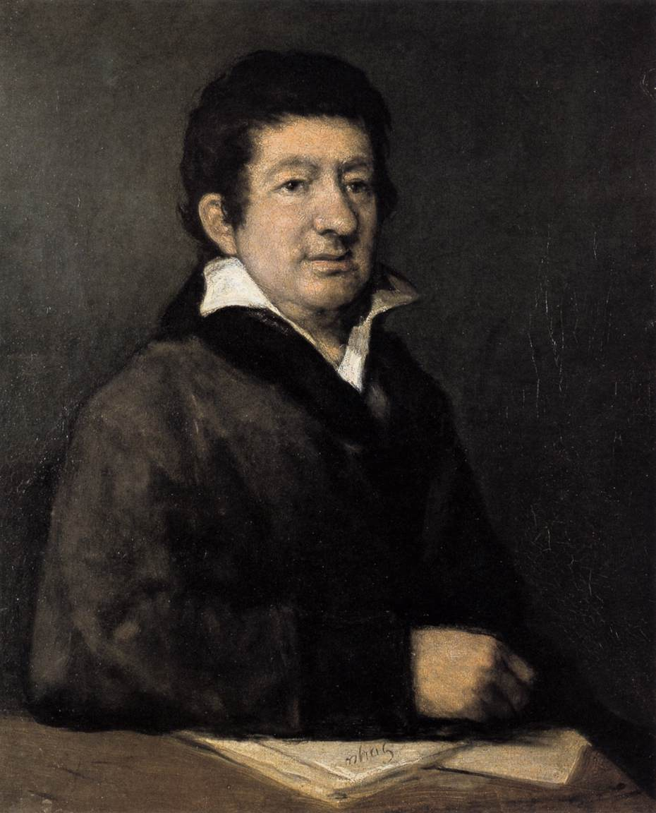 Portrait of the Poet Moratín
