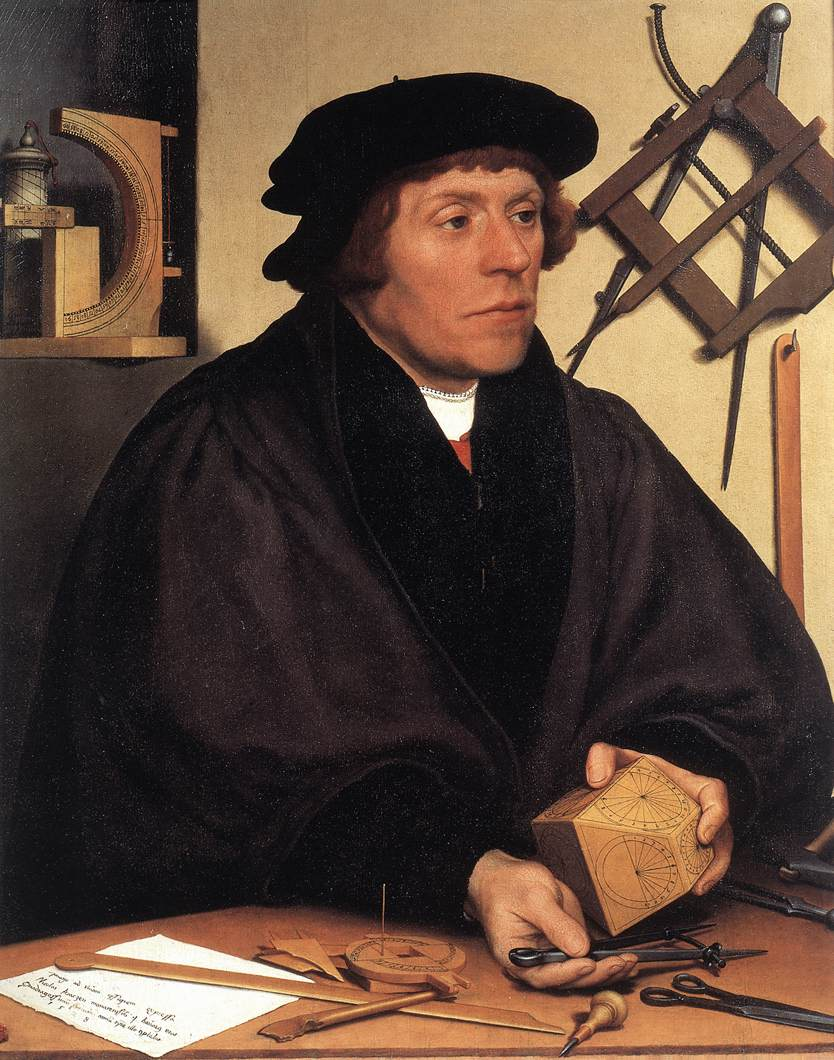 Portrait of Nikolaus Kratzer