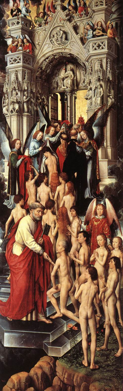 Last Judgment Triptych (left wing)