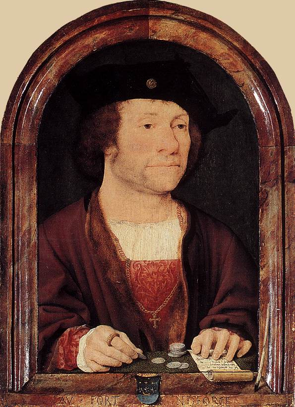 Portrait of Anthonis van Hilten