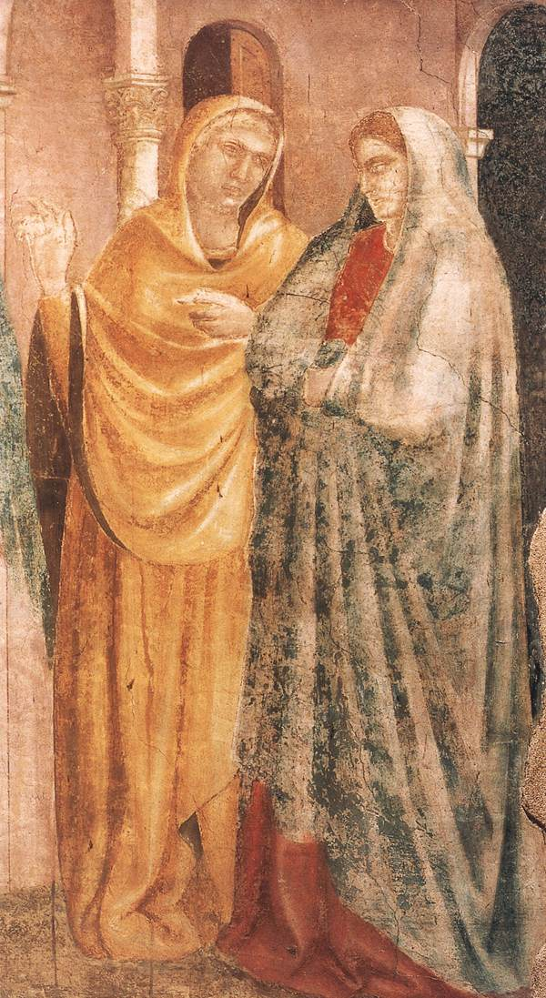 Scenes from the Life of St John the Baptist: 1. Annunciation to Zacharias