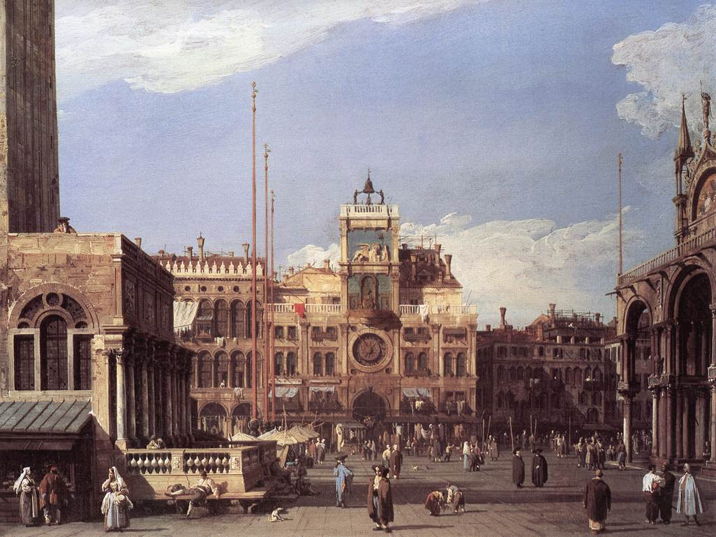 Piazza San Marco: the Clocktower