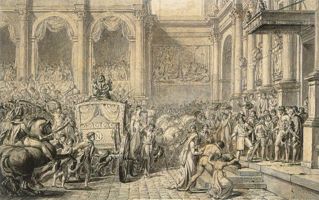The Arrival at the Hôtel de Ville