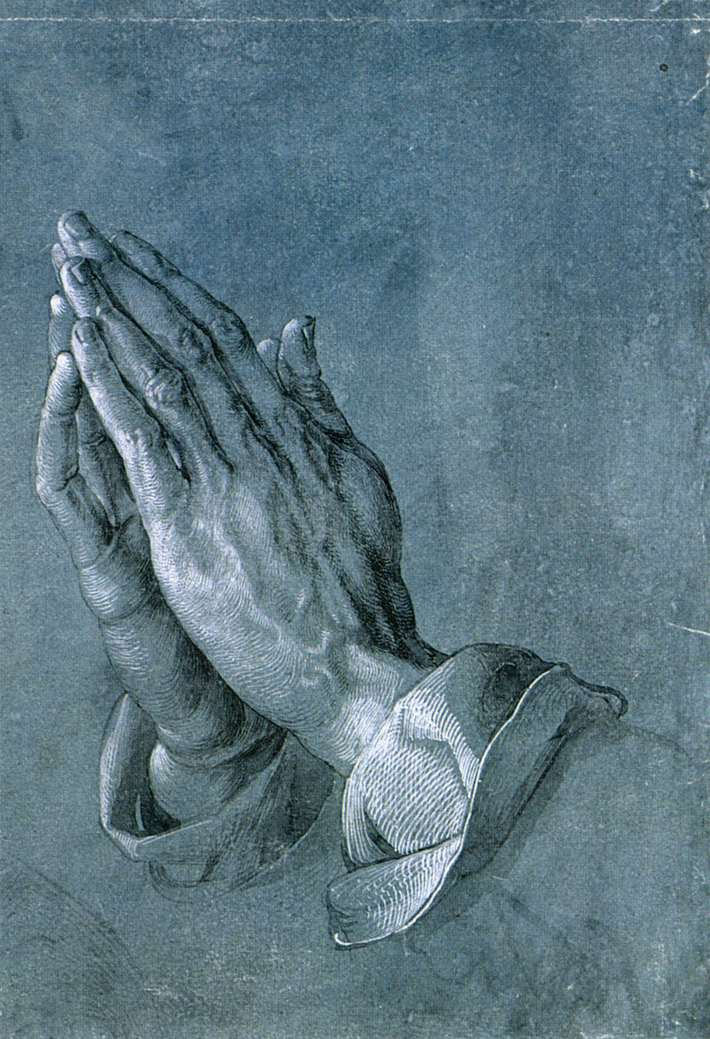 Study of an Apostle's Hands (Praying Hands)