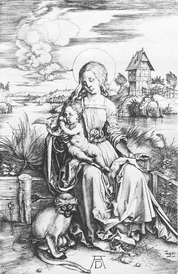 The Madonna with the Monkey