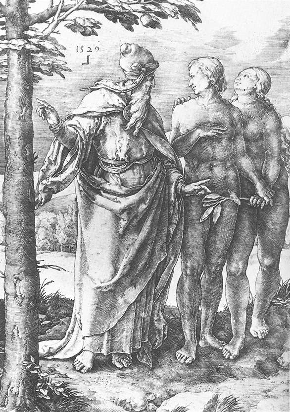 Adam and Eve (Expulsion from the Paradise)