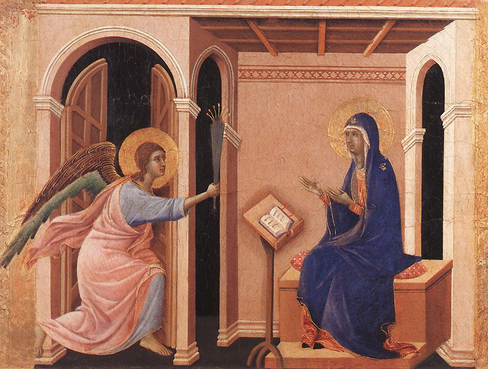 Announcement of Death to the Virgin