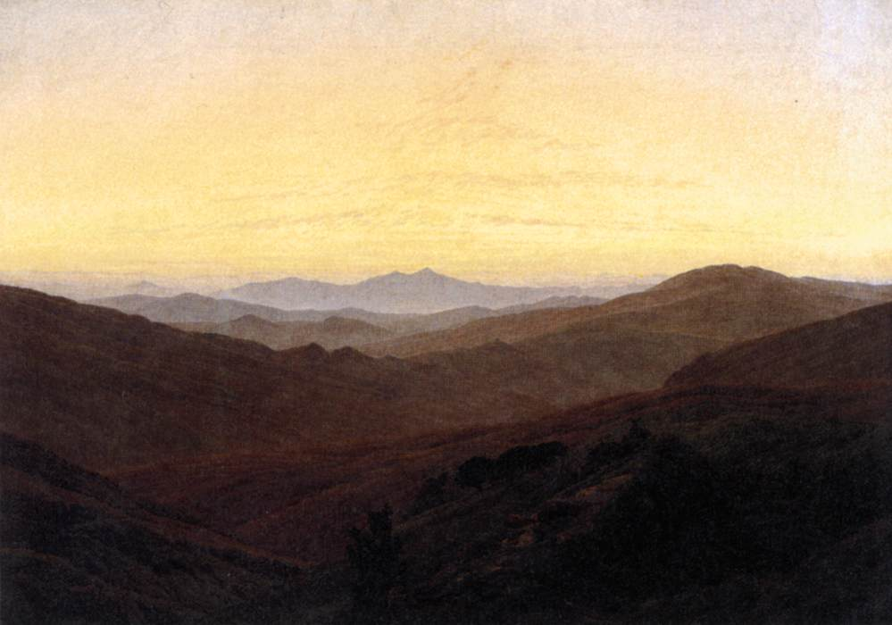 Caspar David Friedrich. by FRIEDRICH, Caspar David