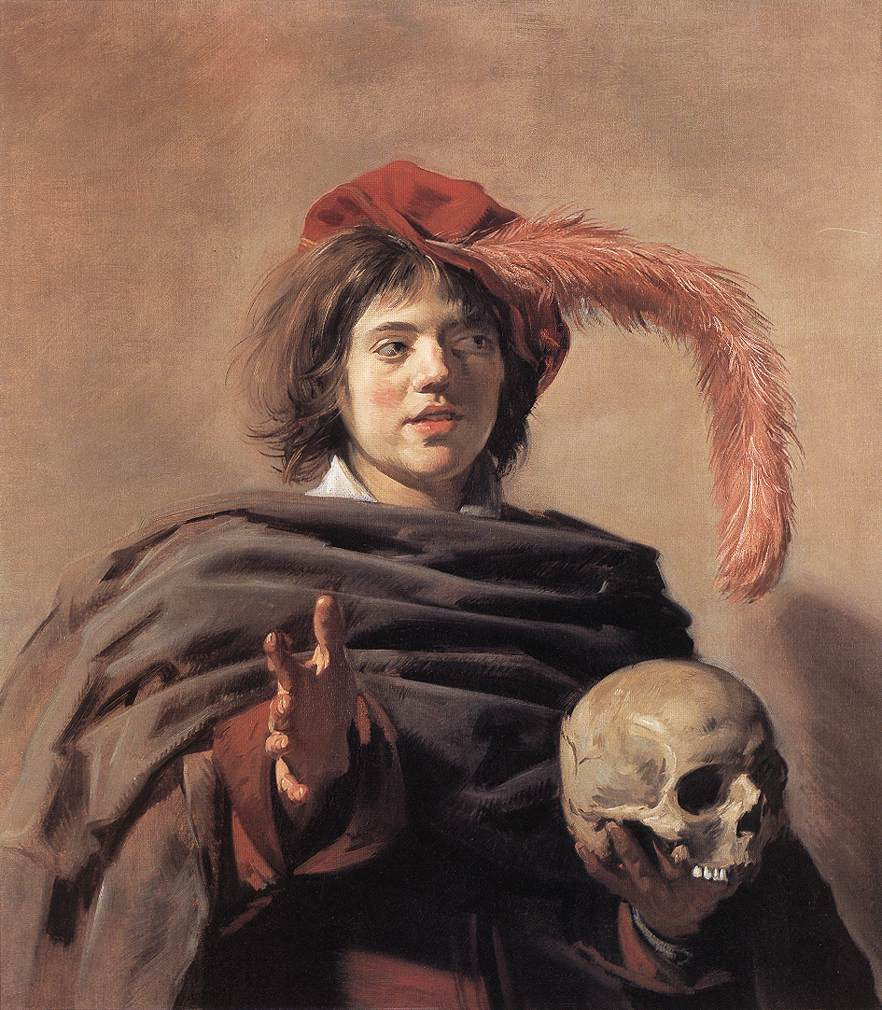Young Man with a Skull (Vanitas)