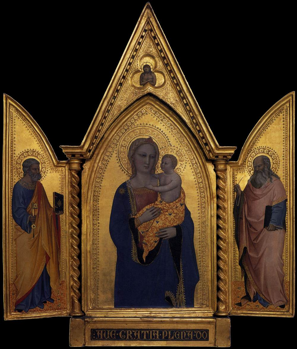Madonna and Child with Sts Peter and John the Evangelist