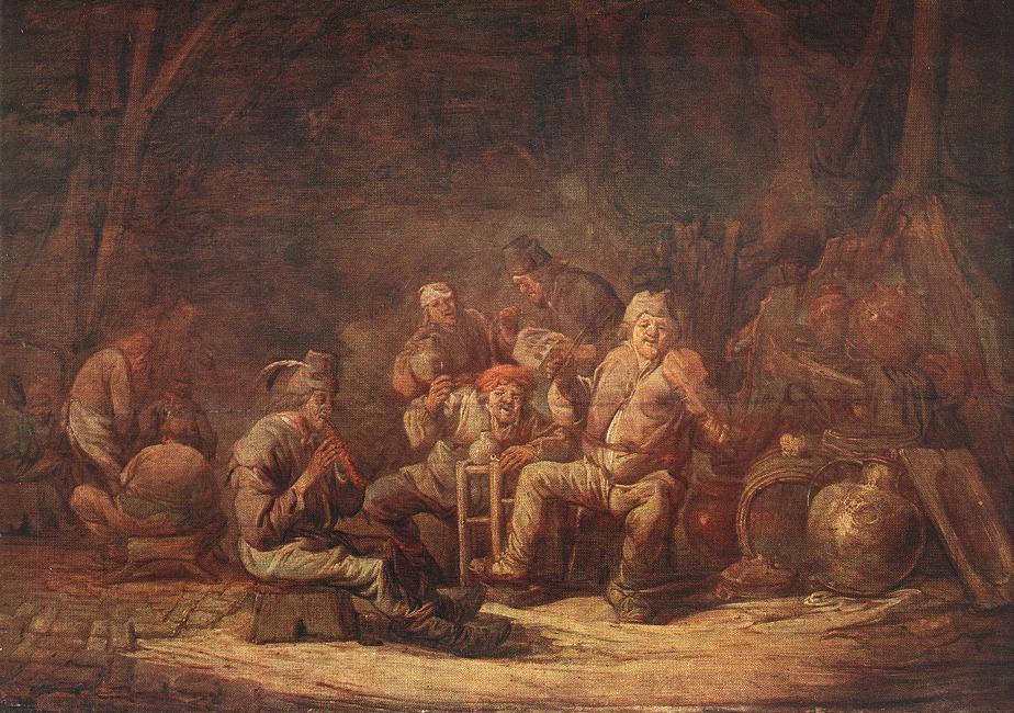 Peasants in the Tavern