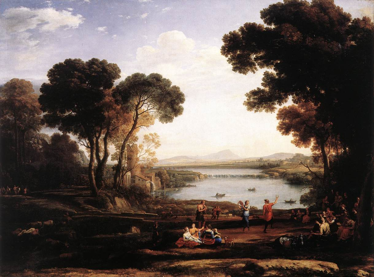 Landscape with Dancing Figures (The Mill)