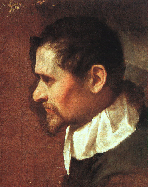 Self-Portrait in Profile