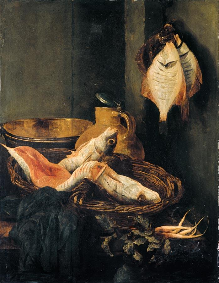 Still-Life with Fish in Basket