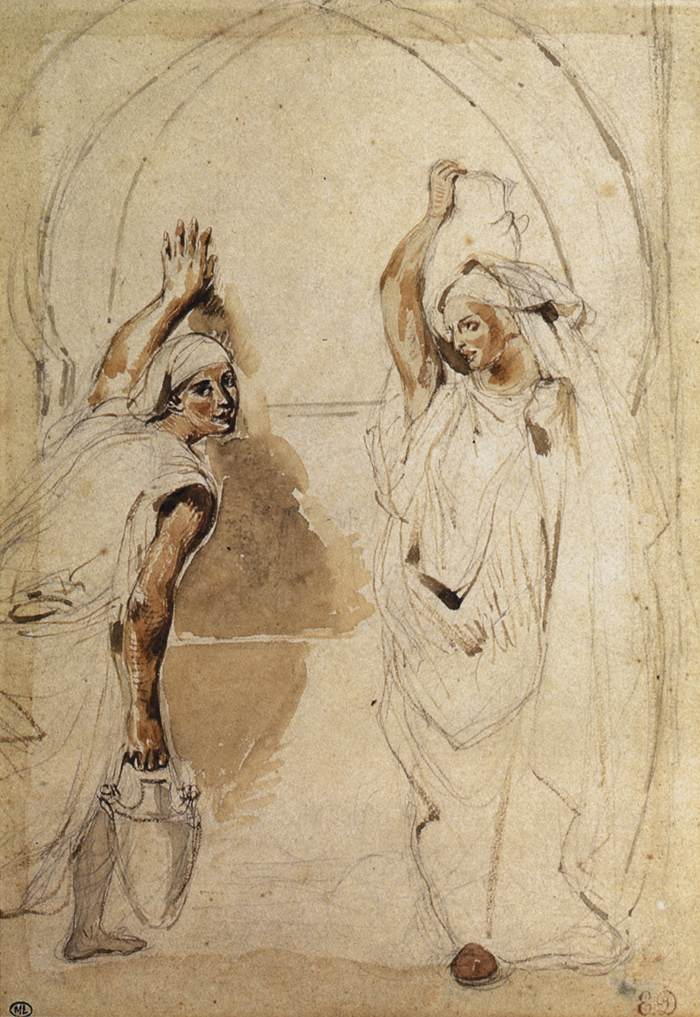 Two Women at the Well