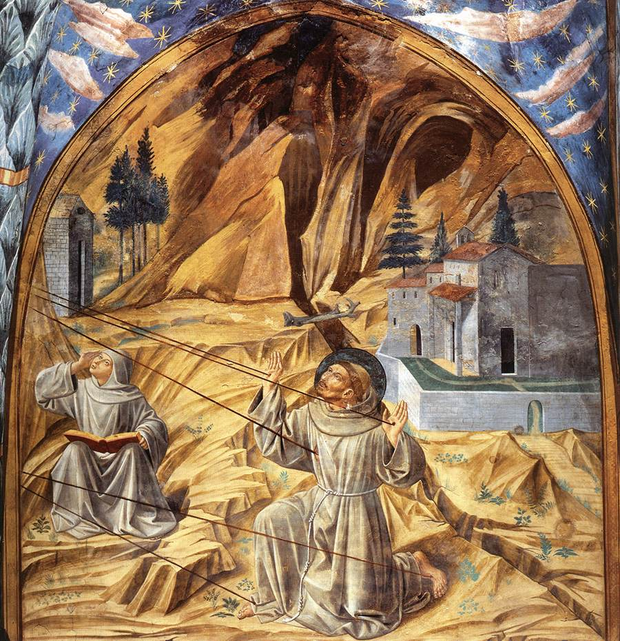 Scenes from the Life of St Francis (Scene 11, south wall)