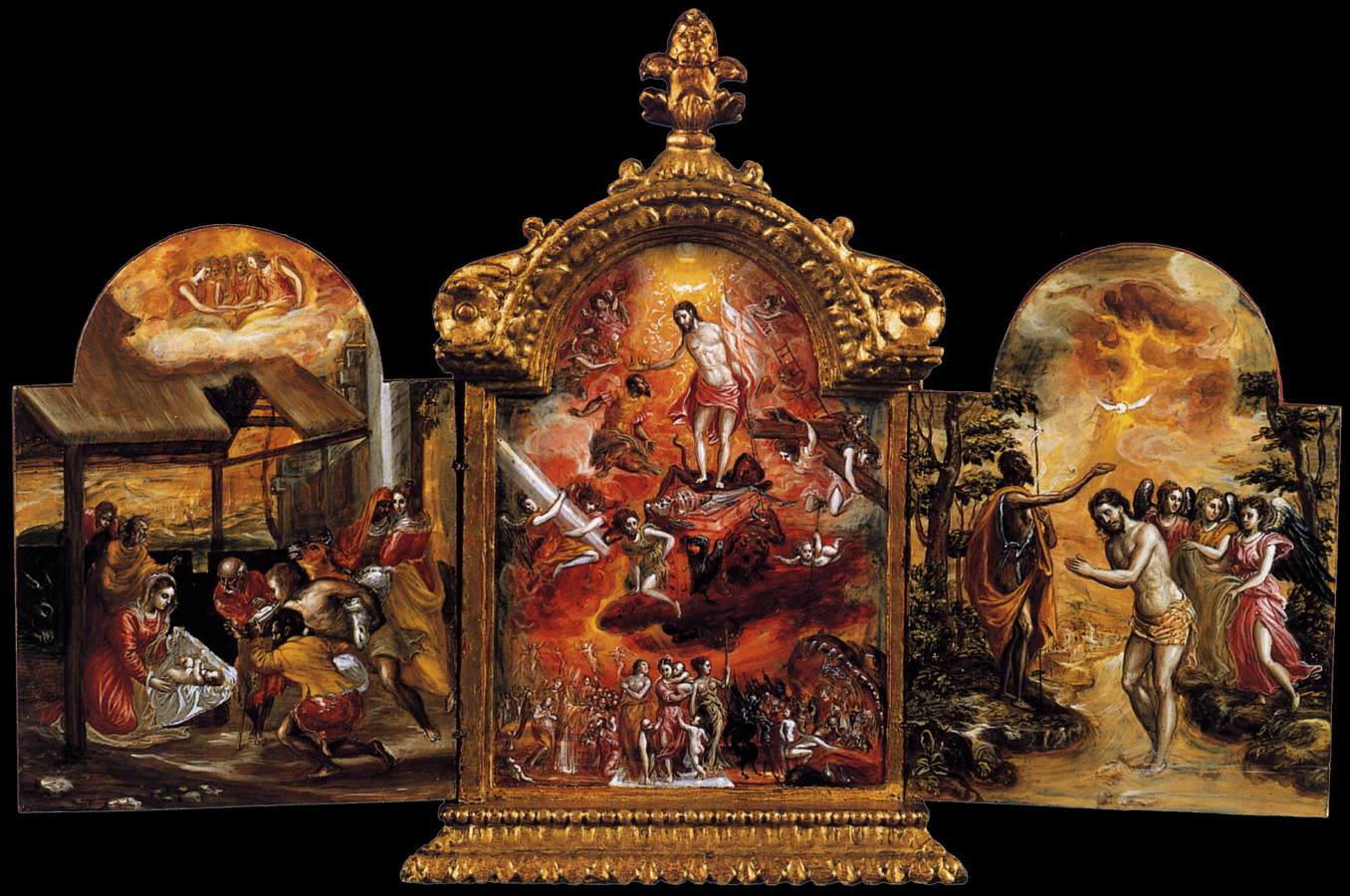 The Modena Triptych (front panels)