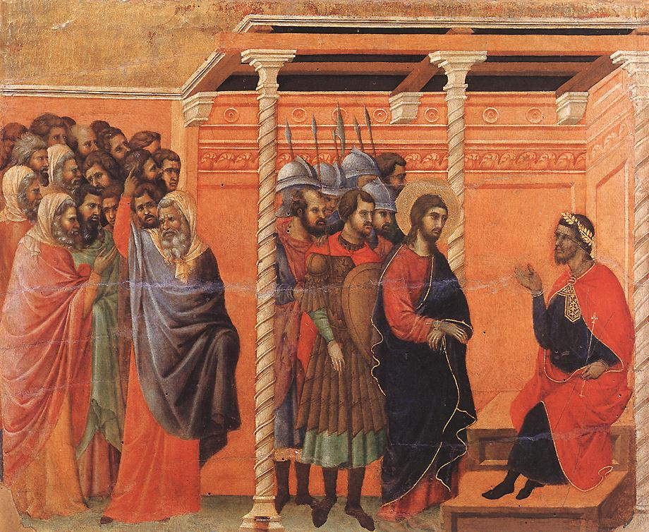 Pilate's First Interrogation of Christ