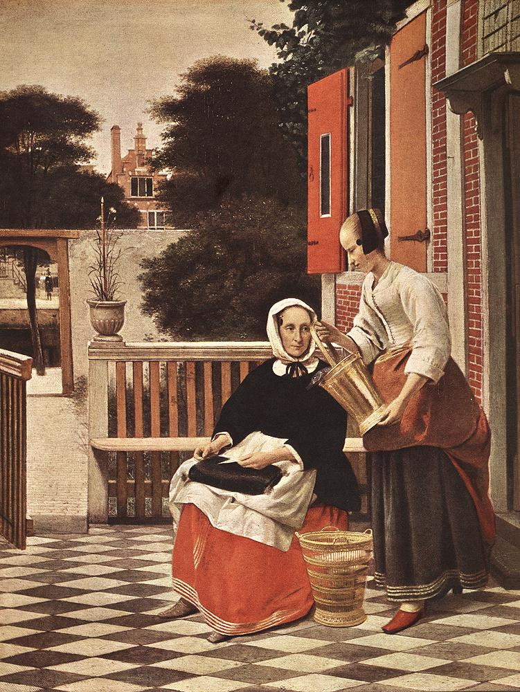 Woman and Maid