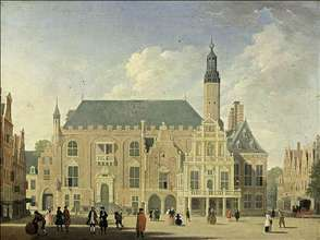 Haarlem: View of the Town Hall