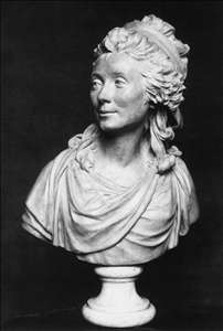 Bust of the Comtesse de Sabran