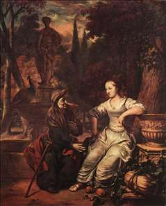 Vertumnus and Pomona