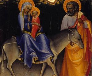 The Flight into Egypt (detail)
