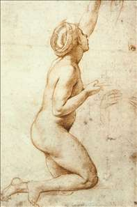 Kneeling Nude Woman