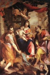 Virgin and Child with Sts Simon and Jude (Madonna di San Simone)