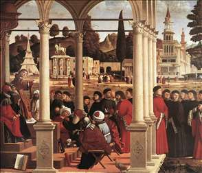Disputation of St Stephen