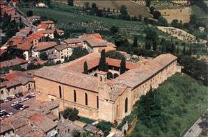 View of the Church of Sant'Agostino