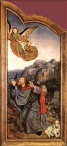 St Anne Altarpiece (left wing)