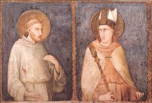 St Francis and St Louis of Toulouse