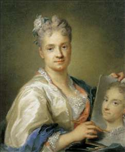 Self-Portrait with her Sister