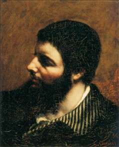 Self-Portrait with Striped Collar