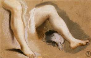 Study for the Legs of Campaspe